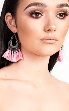 View the Andrea Tassel Earrings  online at iKrush