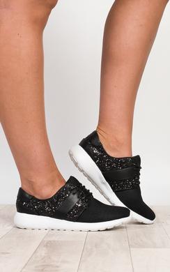 View the Kimika Glitter Trainers  online at iKrush