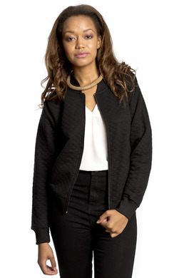 View the Niba Zip Quilted Jacket online at iKrush