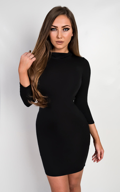 View the Kapri Basic Bodycon Dress online at iKrush