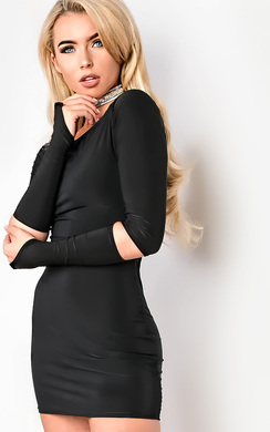 View the Carley Off Shoulder Bodycon Dress online at iKrush