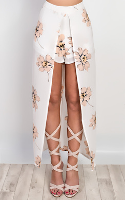 View the Talia Floral Maxi Skirt online at iKrush