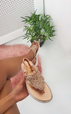 View the Acer Diamante Embellished Sandals online at iKrush
