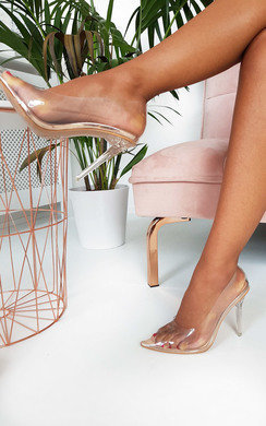 View the Ada Perspex Court Heels online at iKrush