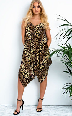 View the Afia Harem Romper Jumpsuit  online at iKrush