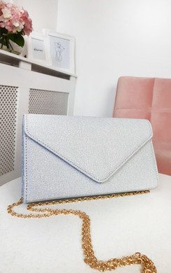 View the Afia Shimmer Clutch Bag online at iKrush