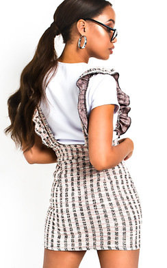 View the Ailie Pinafore Mini Dress online at iKrush