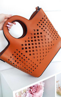 View the Aimee Two in One Cut Out Handbag online at iKrush