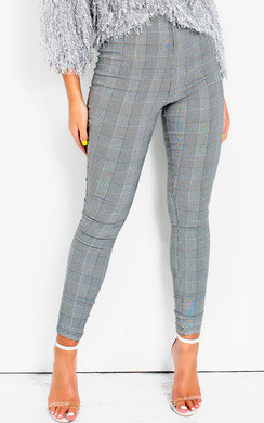 View the Alba Slim Fit High Waist Trousers  online at iKrush