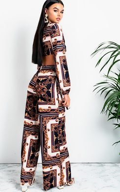 View the Alba Tie Printed Co-ord online at iKrush
