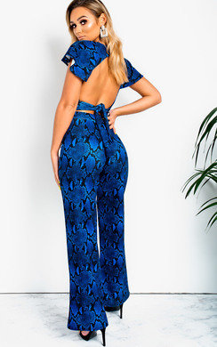View the Alia Wide Leg Printed Co-Ord online at iKrush