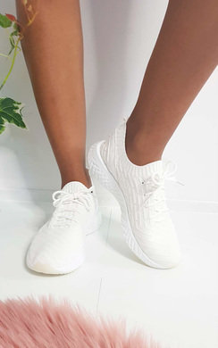View the Alice Lace Up Sock Trainer  online at iKrush