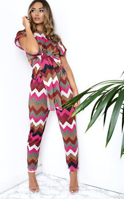 View the Amerie Zig Zag Shimmer Co-ord online at iKrush