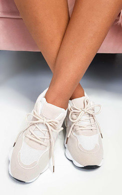 View the Ani Chunky Mesh Trainers online at iKrush