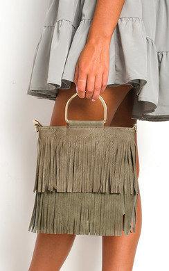 View the Ani Fringe Tassel Bag online at iKrush