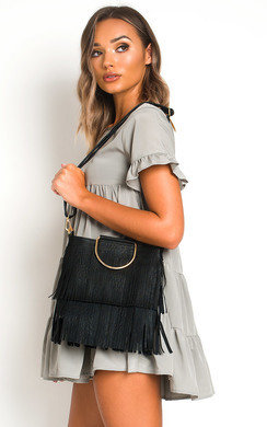 View the Ani Fringe Tassel Bag online at iKrush
