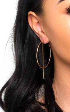 View the Aoife Statement Hoop Earrings  online at iKrush