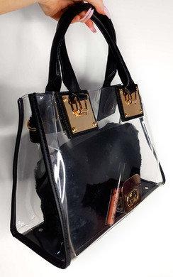 View the April Transparent Tote Bag online at iKrush