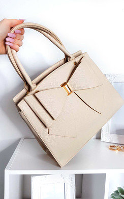 View the Arabella Bow Detail Handbag online at iKrush