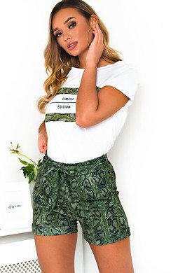 View the Arla Slogan T-Shirt and Shorts Co-ord  online at iKrush