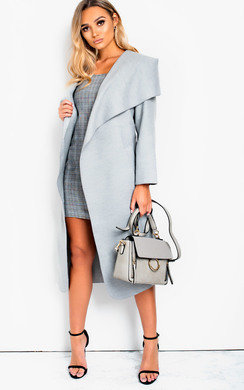 View the Aurora Long-Sleeved Waterfall Coat online at iKrush