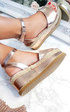 View the Ava Flatform Sandals online at iKrush