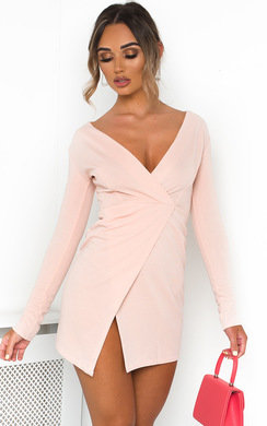 View the Ayia Long Sleeve Bodycon Mini Dress online at iKrush