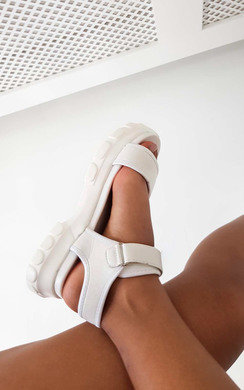 View the Ayla Strap Chunky Sandals  online at iKrush