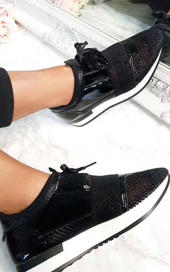 View the Bali Glitter Mesh  Panel Trainer online at iKrush