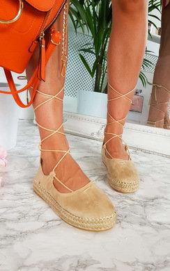 View the Becki Espadrille Flatform Sandal online at iKrush