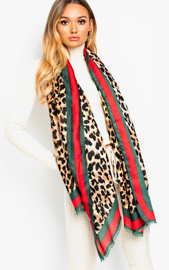 View the Bella Soft Bold Print Scarf online at iKrush