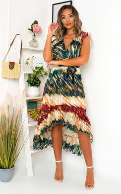 View the Benny Bold Print Maxi Dress online at iKrush
