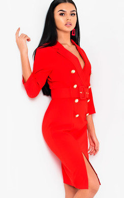 View the Bethany Blazer Midi Dress online at iKrush