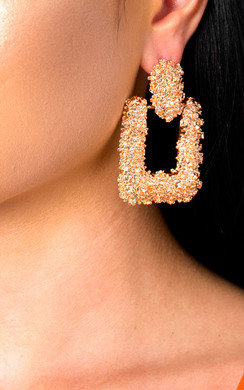 View the Bianca Statement Drop Earrings  online at iKrush