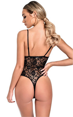 View the Bonnie Lace Bodysuit online at iKrush