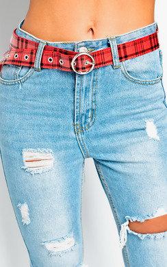 View the Bonnie Tartan Belt online at iKrush