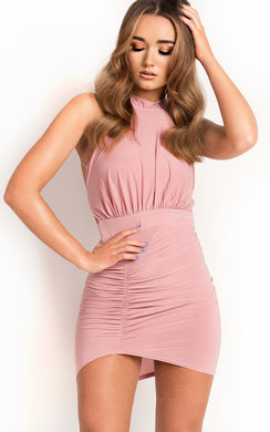 View the Brendi Slinky Backless Bodycon Dress online at iKrush