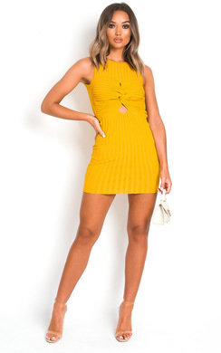 View the Briana Bodycon Knitted Dress online at iKrush