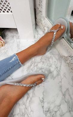 View the Brina Diamante Flip Flop Sandals online at iKrush