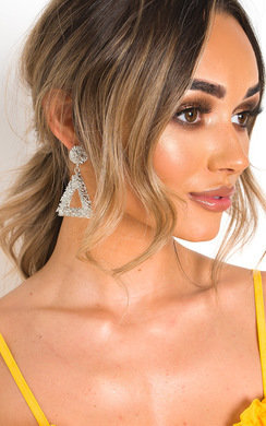 View the Bryony Statement Drop Earrings  online at iKrush