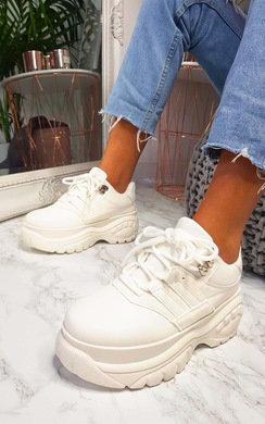 View the Buffy Chunky Platform Trainers  online at iKrush