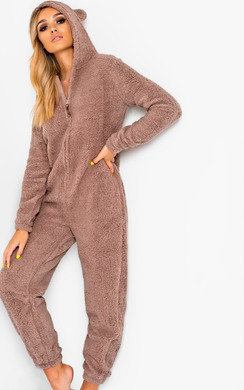 View the Byron Fluffy Bear Onsie online at iKrush