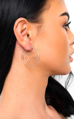 View the Camille Swirl Earrings  online at iKrush