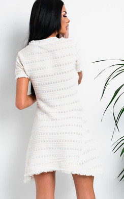 View the Chanel Frayed Knit Dress online at iKrush