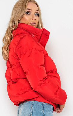 View the Charly Padded Puffer Jacket online at iKrush