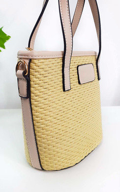 View the Chelsea Wicker Handbag online at iKrush