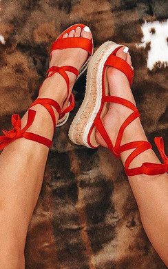 View the Cherri Cork Strappy Wedges online at iKrush