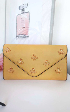 View the Chlo Bee Embellished Envelope Clutch Bag online at iKrush