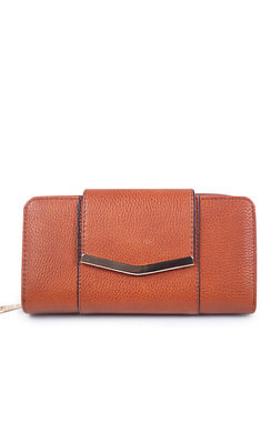 View the Chlo Faux Leather Gold Bar Purse online at iKrush