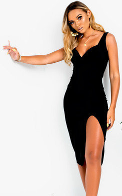 View the Ciara Bodycon Midi Dress online at iKrush
